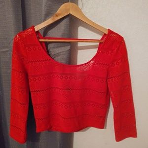 Forever 21 Stretch Crop Top